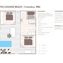 Map of Tiki Lounge Beach 3 bedrooms