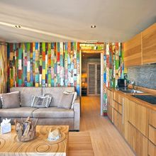 Colorful holidays in Our Tiki Lounge Beach 1 Bedroom